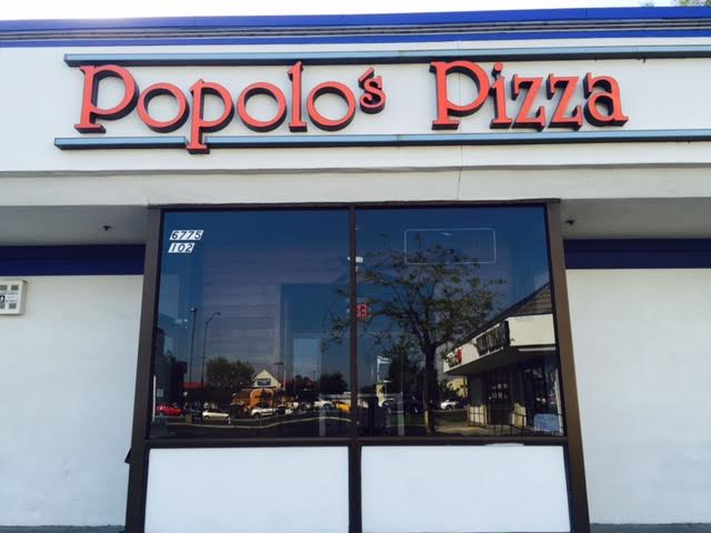 popolo's pizza front