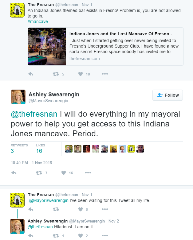 ashley-swearengin-on-twitter-thefresnan-i-will-do-everything-in-my-mayoral-power-to-help-you-get-access-to-this-indiana-jones-mancave-period